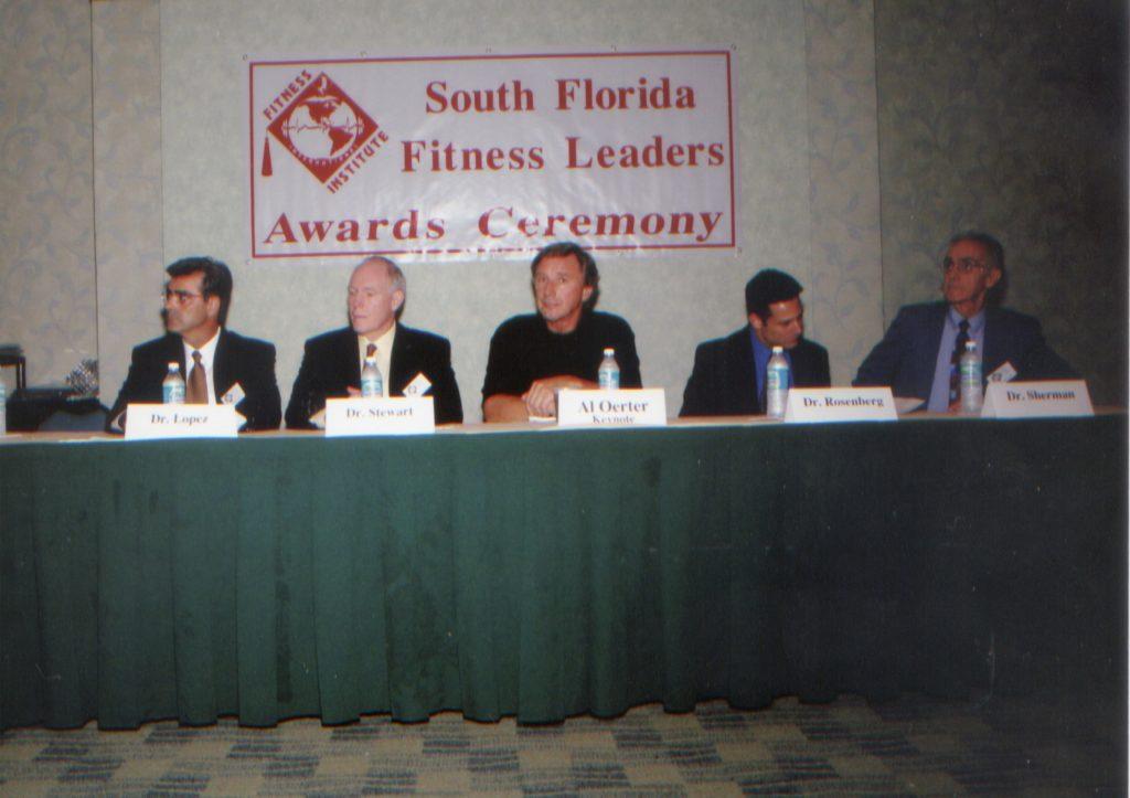 Advisory Board Members & Keynote Speaker Al Oerter
